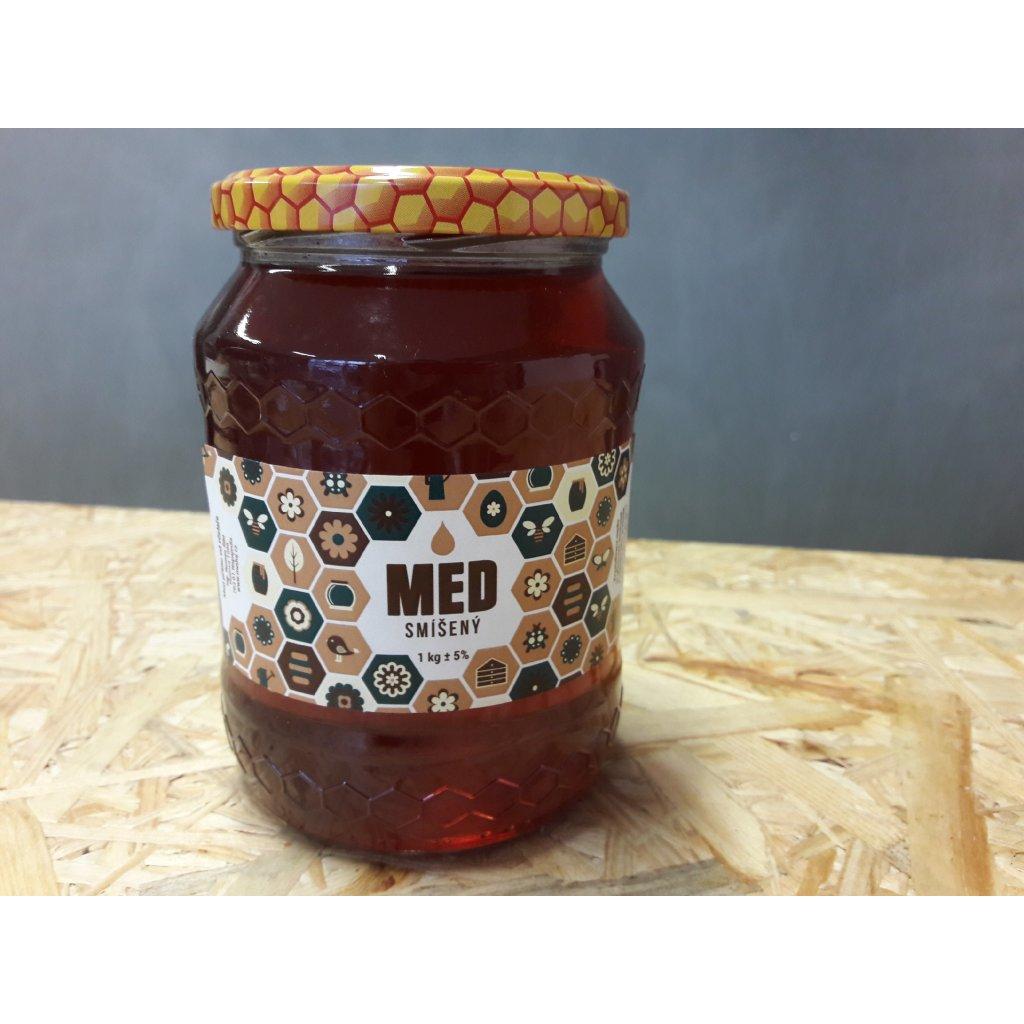 Med smíšený tmavý 1kg