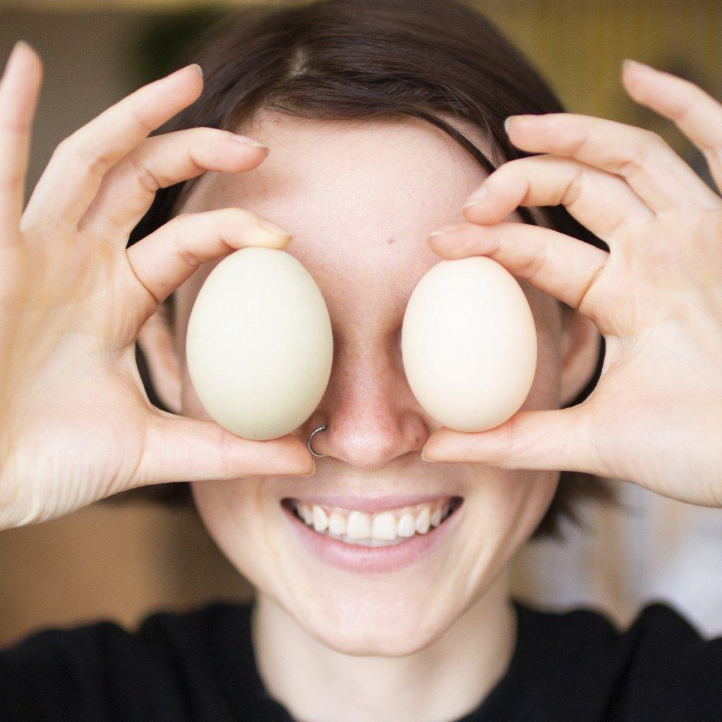 Domácí vajíčka