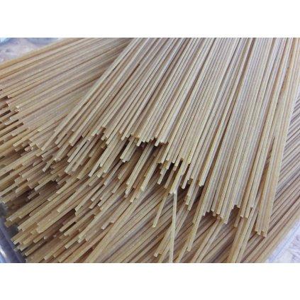 Celozrnné špagety pšeničné BIO