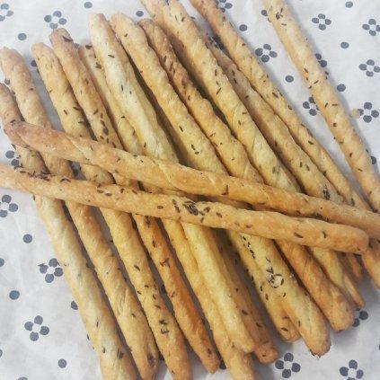 Pekárna Třebětice - slané tyčinky